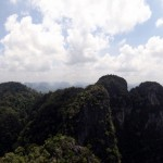 Panoramic shot.