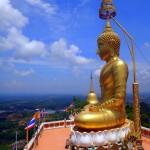 A big Buddha.