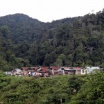 An Orang Asli settlement.