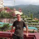 Me at the Kek Lok Si Temple.