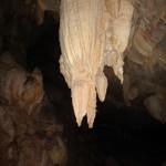 Dragon at the entrance of Lang Cave.
