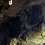 Bats on the roof of Deer Cave.