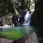 ... to a beautiful waterfall.