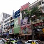 Shopping street.