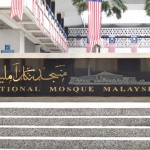 ... at the National Mosque of Malaysia.