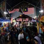 Night market for Ramadan shopping.