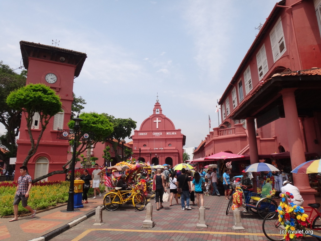 Dutch square of Melaka.
