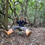 Jungle swing.