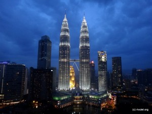 Petronas Twin Towers in KL. Goodbye Stevieboy & cu again!