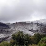 The Manaslu glacier itself.