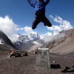 Jumping into Tibet. 5000 m. Yeah!
