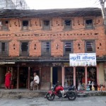 Old houses in Old Pokhara.