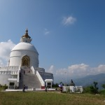 ... to the World Peace Pagoda.