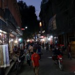 Street in Thamel.