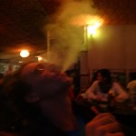 ... we celebrated with a Shisha.