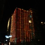 My guesthouse during the Tihar festival.