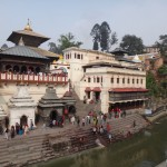 Pashupatinath, the most important Hindu temple in Nepal.