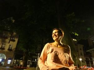 Melanie, my lovely city guide in Aachen!
