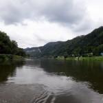 The Elbe river.