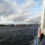 Arriving at Hiddensee.
