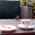 Coffee break with very interested guests ;-)