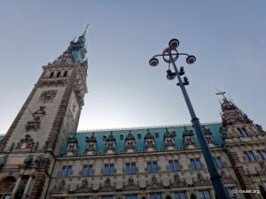 Hamburg's city hall.