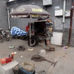 Garage ;-) in a Hutong.