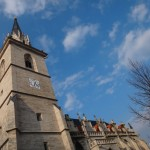 The church of Bad Langensalza.
