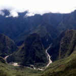 Machu Picchu: Beautifully located in a tropical mountain forest.