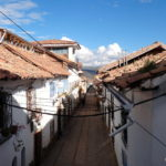 Little streets in San Blas..