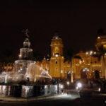 Nighttime in Lima.