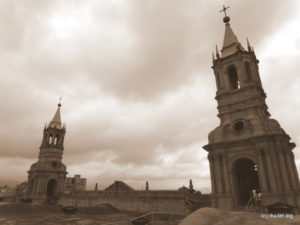 Basilica Cathedral of Arequipa.